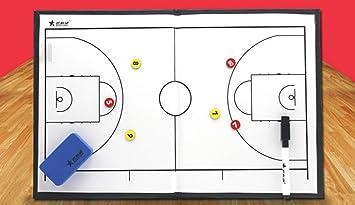 Arenero Face gráfica de las tácticas de baloncesto del respaldo ...