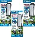 (3 Pack) Marina Slim Filter Carbon Plus Ceramic Cartridge, 3 Cartridges each by Marina