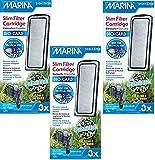 Marina Slim Filter Carbon Plus Ceramic Cartridge, 9-count