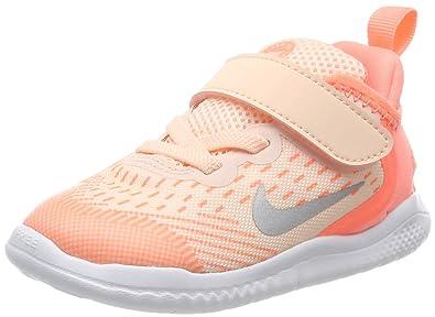 new style 50802 074d1 Nike Free RN 2018 (TDV), Chaussons Mixte bébé, Multicolore Tint/Gunsmoke