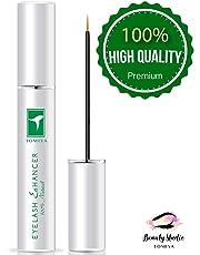 Econobum 100% Natural Extract Eyelash Growth Serum FEG Eyelash Enhancer for Longer, Thicker and Fuller Eyelash