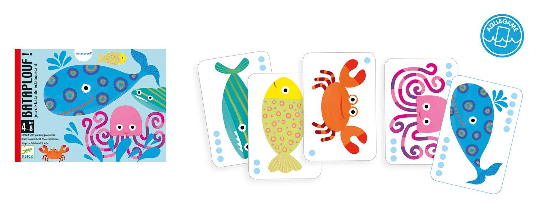 DJECO Juegos de cartasJuegos de cartasDJECOCartas Bataplouf 36