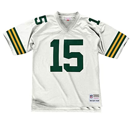 eec4c0749 Mitchell   Ness Bart Starr Green Bay Packers NFL White 1969 Throwback Away  Road Legacy Jersey