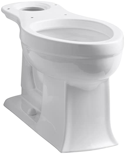 Kohler K-4356-0 Archer Comfort Height Elongated Bowl, White - One ...