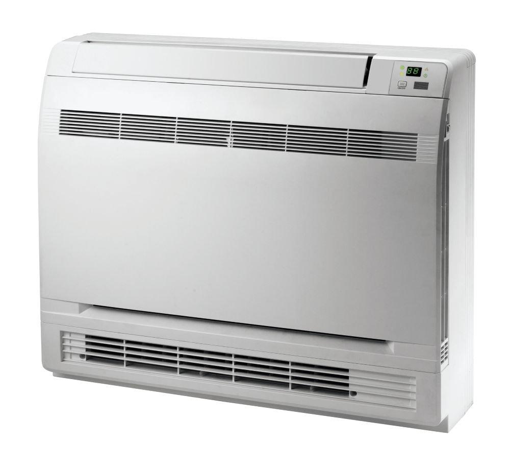 9-12-18 Tri-Zone Floor Console Mini Split Air Conditioner Heat Pump 208-230V Gree MULTI42CCONS305-42,000 BTU Multi21
