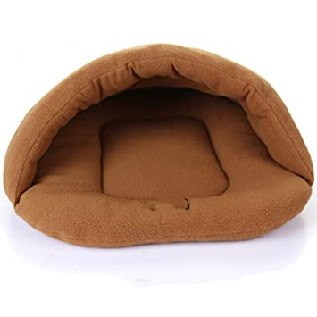 crazy-shop Pet Warm Sleeping Bags Nest Dog Litters Medium and Small House Plush Mat