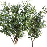 Factory Direct Craft ® Collection of 12 Artificial Christmas Holiday Pine Juniper Floral Picks
