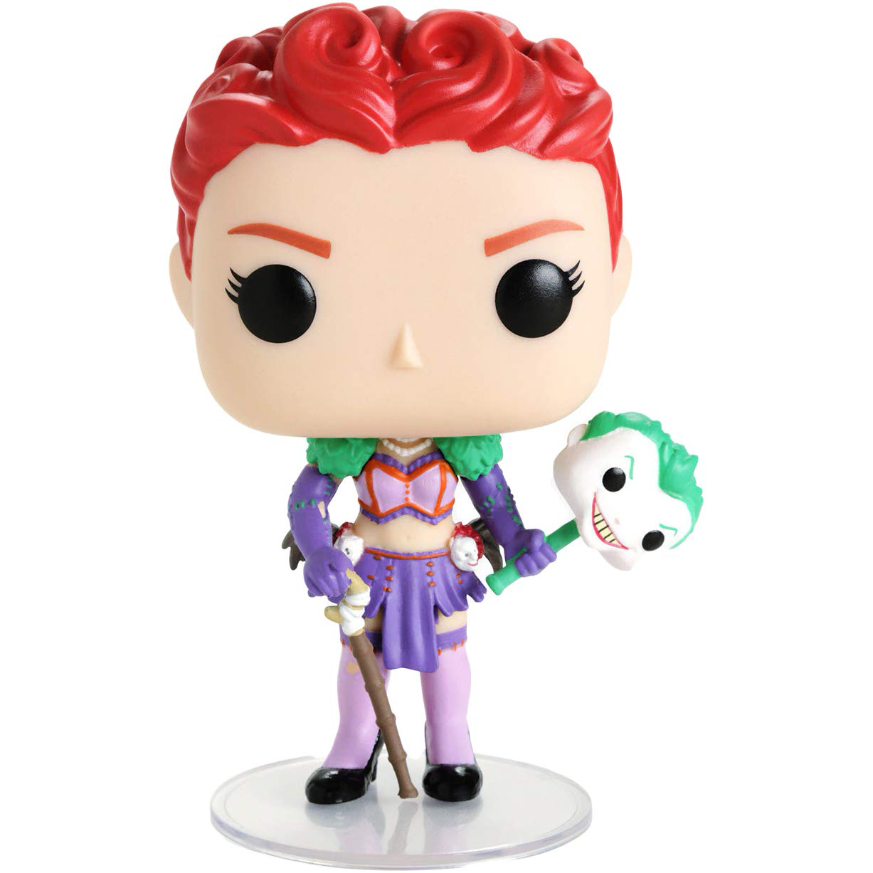 Hot Topic Exclusive #257 // 34073 - B Funko Duela Dent Heroes Vinyl Figure /& 1 POP BCC9UC40 Compatible PET Plastic Graphical Protector Bundle : DC Bombshells x POP