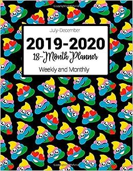 July-December 2019-2020 18-Month Planner ... - Amazon.com