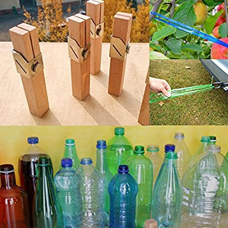 Bricolage Con Bottiglie Di Plastica.Kicode Creativo All Aperto Fai Da Te Bottiglia Di Plastica Corda