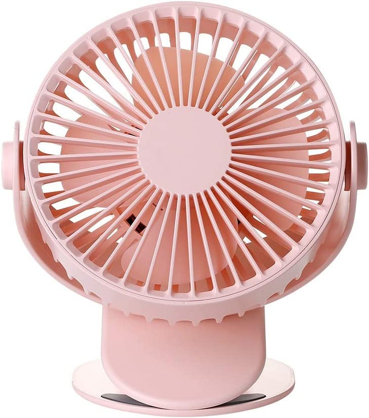 MDYYD Mini USB Table Desk Personal Fan Fan Clip Fan USB Desk Fan Portable Personal Fan Small Quiet Fan for Office,Home,Travel,Camping Strong Wind,Quiet Operation,for Home Office.