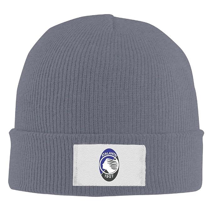 Custom Own Atalanta B.C. Logo Knitted Caps Beanies For Man And Women    Teens Ash ca15bfed2