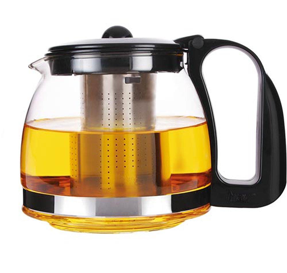 Moderne Teekanne schäfer 700 ml teekanne glaskanne mit integriertem edelstahl