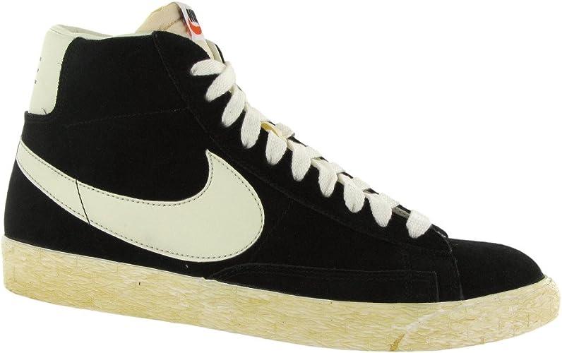 Nike Blazer Hi Black White Mens