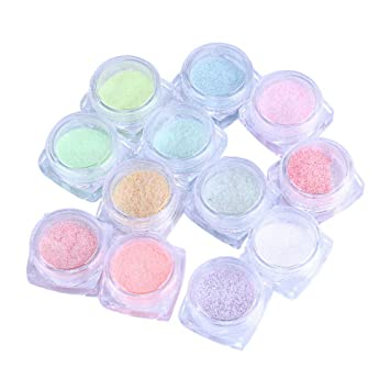 Amazon Com Clearance Tanwpn 12 Color Set Cute Nail