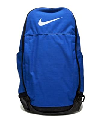 c61365f923 NIKE Brasilia 8 EXTRA LARGE XL Laptop Gear Backpack School Book Bag Sport  Rucksack (Royal Copa Blue with White Swoosh Logo)  Amazon.co.uk  Clothing