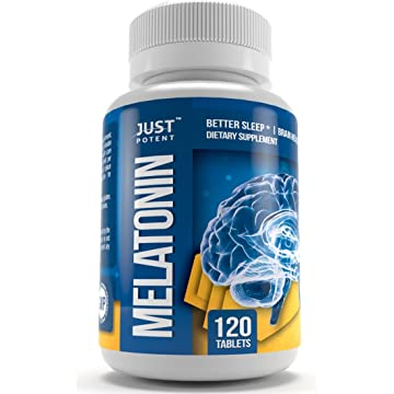 reliable ❶ Pharmaceutical Grade Melatonin by Just Potent :: 10mg Tablets :: Better Sleep :: Brain Health :: 120 Count :: Fast Acting and Non-Habit Forming Sleep Aid!