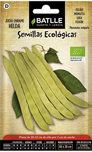 Semillas Ecológicas Leguminosas - Judía Enrame Helda - ECO - Batlle