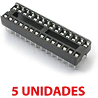 5X Zócalo DIP28 28 Pines pin Socket doble