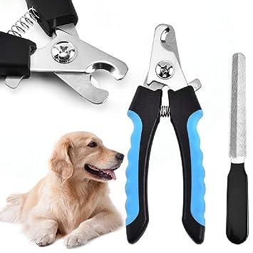 GPFDM Cortauñas y cortauñas para Gatos y Perros con Lima de uñas Gratis - Cortaúñas para