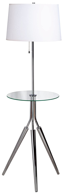 Kenroy Home 30510CH Rosie Floor Lamp, Chrome