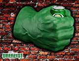 foam fist beverage holder - Uberfist - Green Right Handed