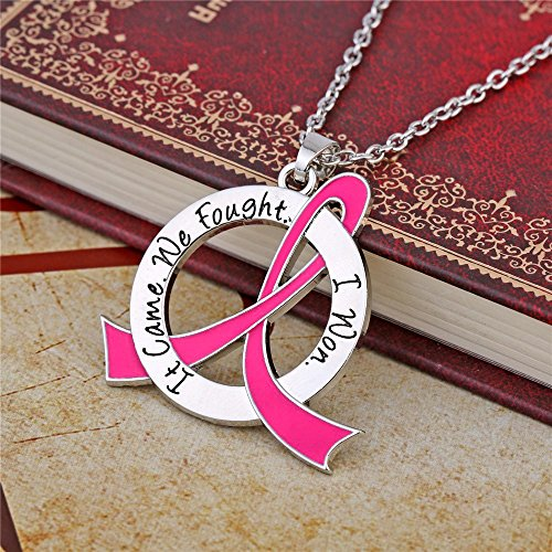 Breast Cancer Survivor Necklace Sterling Silver