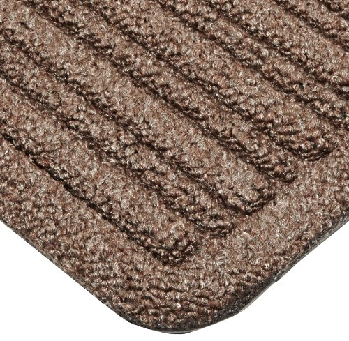 """UPC 662641778115, Notrax 161 Barrier Rib Entrance Mat, for Indoor Main Entranceways and Heavy Traffic Areas, 3' Width x 5' Length x 3/8"""" Thickness, Brown"""
