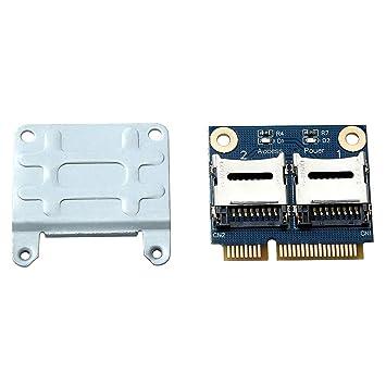 Amazon.com: Tekit - Adaptador convertidor de 2 puertos Dual ...