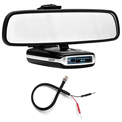 Radar Mount Mirror Mount Bracket + Mirror Wire Power Cord for Escort Max Max2 (3001102): Radar Mount: Car Electronics