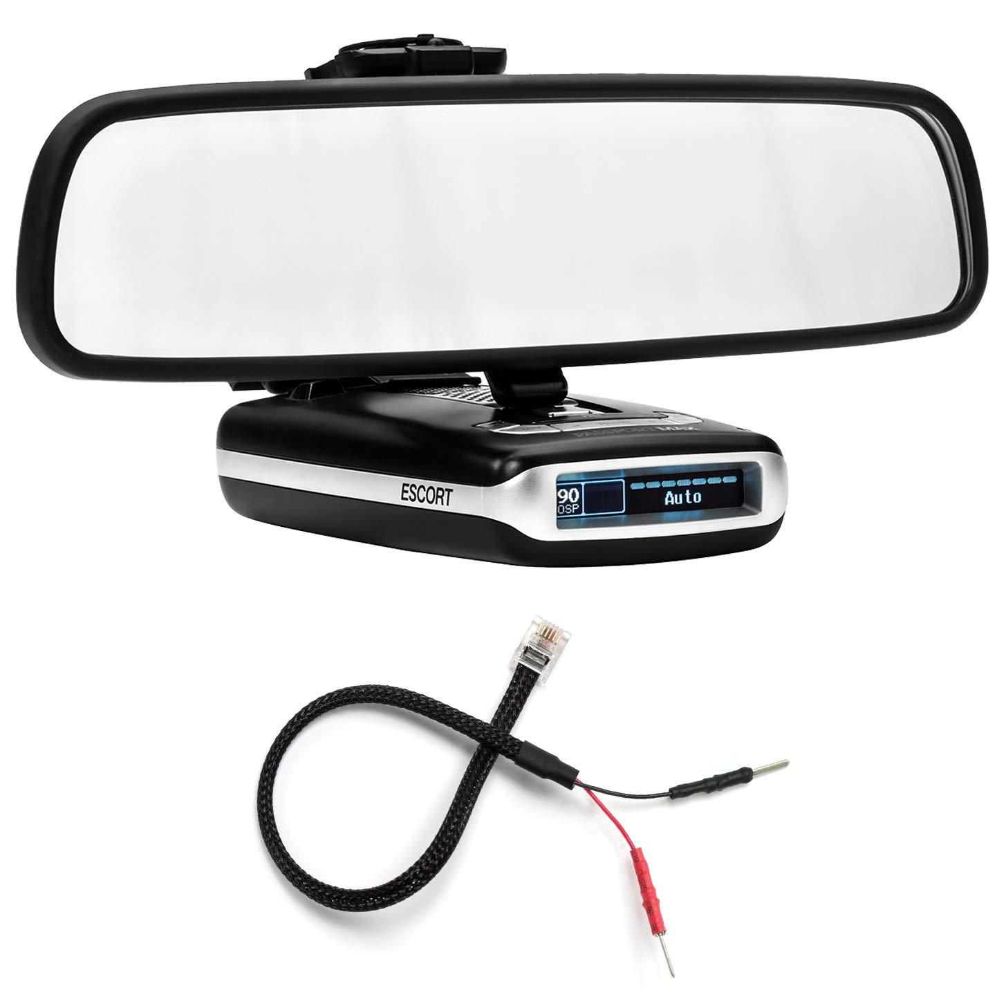 PerformancePackage espejo pantalla plana soporte de Radar Detector + Espejo Cable Cable de alimentación - Escort Max Max2: Amazon.es: Electrónica
