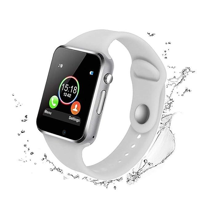 Amazon.com: Bluetooth Smart Watch - WJPILIS Touch Screen ...