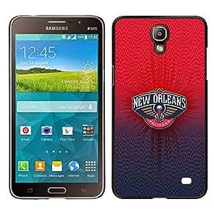 A-type Arte & diseño plástico duro Fundas Cover Cubre Hard Case Cover para Samsung Galaxy Mega 2 (Nueva Orlean Pelican)