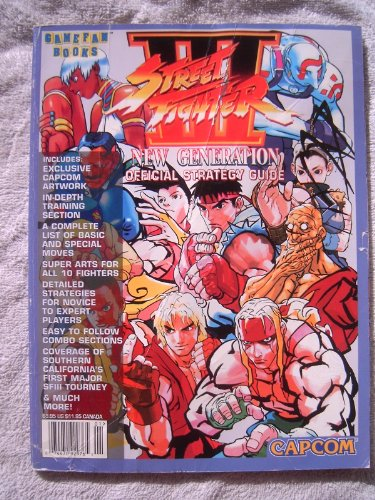 Street Fighter III New Generation Official Strategy Guide (Gamefan Books) (Street Fighter 3 New Generation)