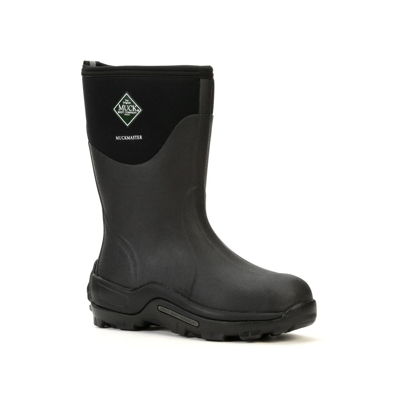 The Original MuckBoots MuckMaster Mid Boot,Black,11 M US Mens/12 M US Womens by Muck Boot (Image #1)