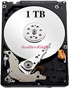 "1TB 2.5"" Hard Drive for Dell Inspiron 17, 17 (1764), 17R, 17R (5720), 17R (7720), 17R (N7010), 17R (N7110), 1720, 1721, 1750, 1764, 9400, 640M Laptops"