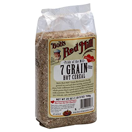 Bobs Red Mill Cereales 7-grain 25,0 oz (Pack de 2): Amazon ...