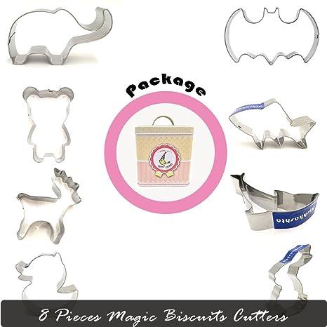 Bayit 3 (vacaciones animales panadería herramienta Cookies galletas cortadores de fondant molde decoración diversión para