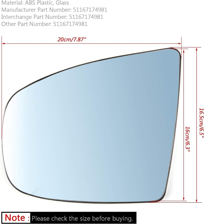Artudatech Rear Bumper Left/&Right Reflector Light For BMW X5 E70 LCI 2011-2013 63147240997