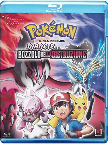 Pokemon Xy - Il Film - Diancie E Il Bozzolo Della [Blu-ray] [IT Import]