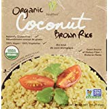 Healthee Ready-to-Eat Organic Coconut Brown Rice, 216 Grams