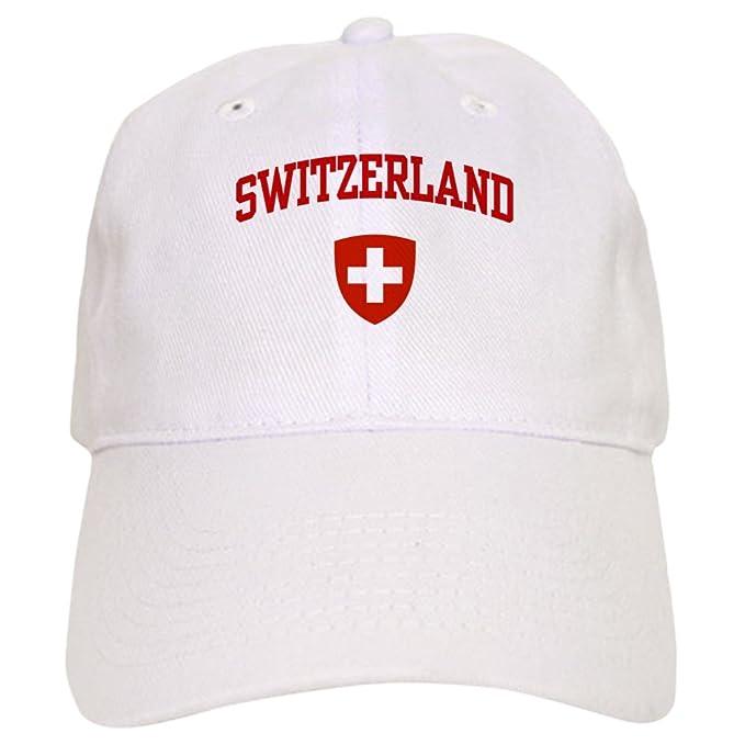db975a657 Amazon.com: CafePress Switzerland Baseball Cap with Adjustable ...