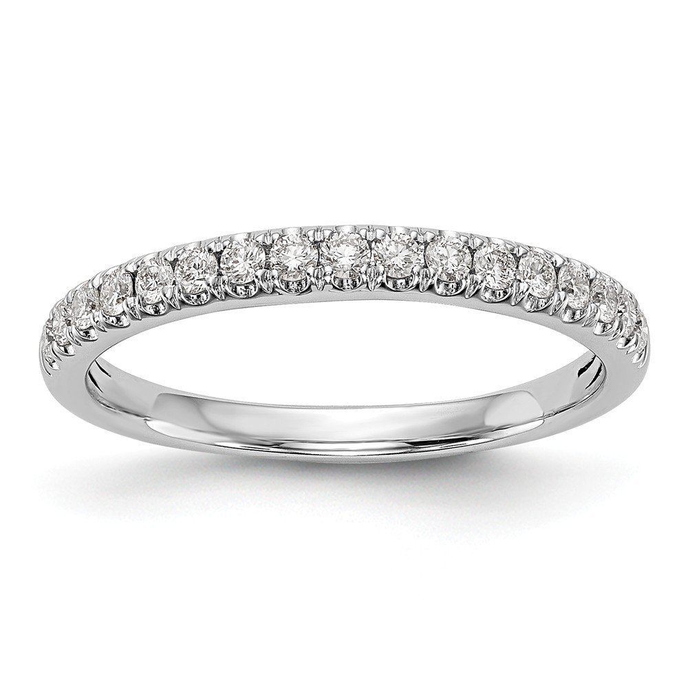 Amazon Solid 14k White Gold Diamond Curved Wedding Band 25ct Jewelry: Curved Wedding Band 0 5ct Diamonds At Reisefeber.org