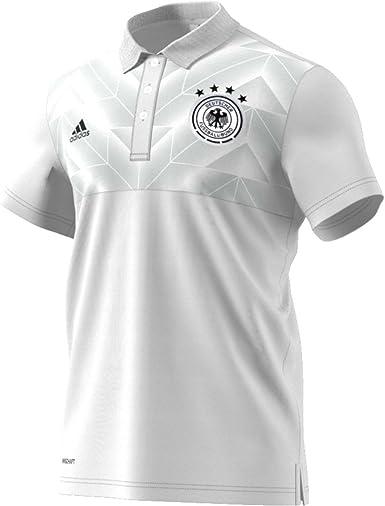 adidas DFB SSP Polo Línea Selección Alemana de Fútbol, Hombre: Amazon.es: Deportes y aire libre