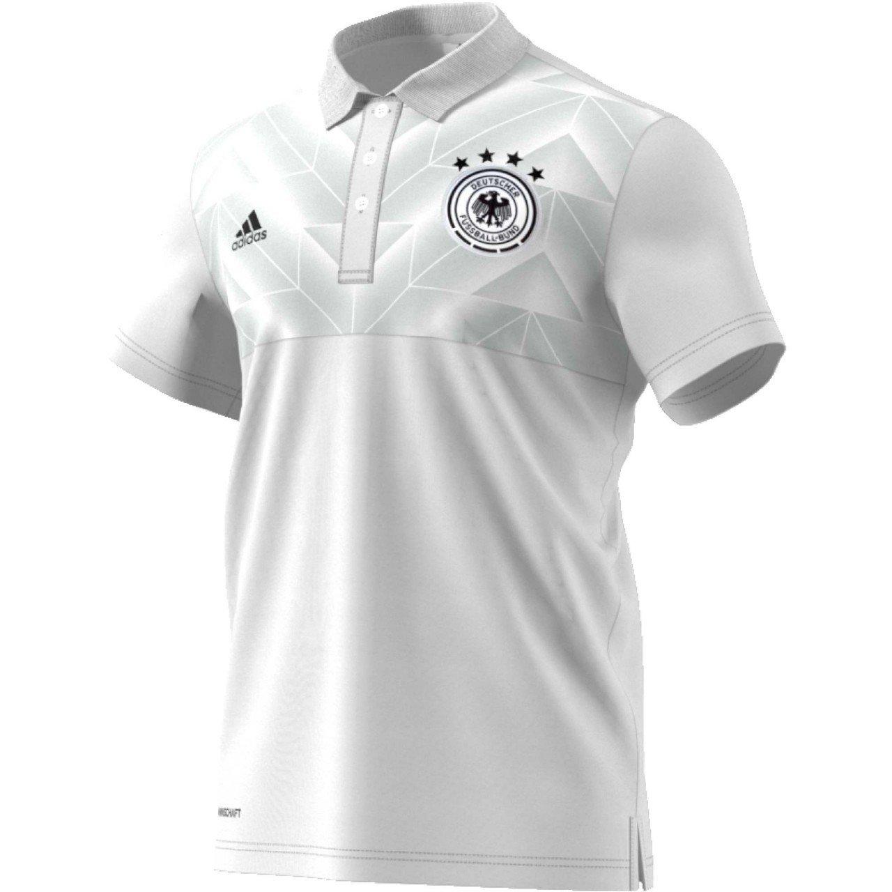 adidas DFB SSP Polo Línea Selección Alemana de Fútbol, Hombre ...