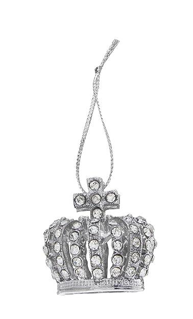 Crown Christmas Ornaments.Amazon Com 3 Dimensional Royal Crown Rhinestone Christmas