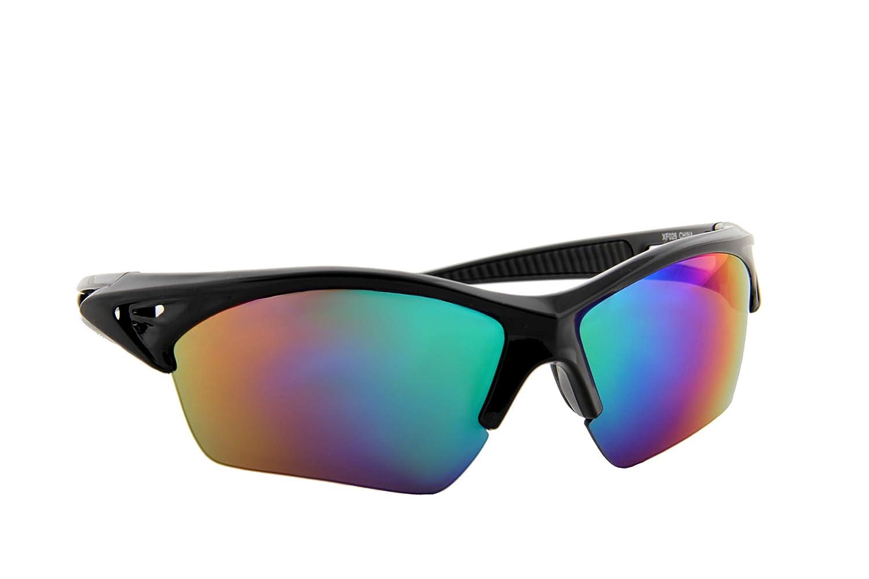 Sports Lightweight Multi-Color Mirror Lens Sunglasses IVOZZO