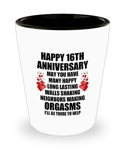 Amazon 16th 16 Year Wedding Anniversary Gift For Him Husband