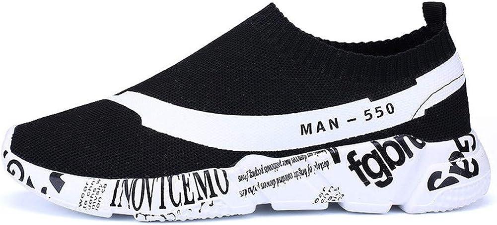 Sneakers for Men,Vickyleb Mens Casual Athletic Sneakers Knit Running Shoes Tennis Shoe for Men Walking Baseball Jogging