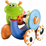 Musical Crawl N' Go Snail With Stacker - Rolls And Spins Its Shell As It moves